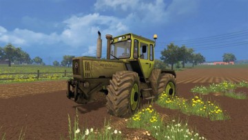 Farming Simulator 15 - Mercedes Benz Trac 1800 Intercooler v2