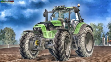 Farming Simulator 15 - Deutz Fahr TTV 7250 v5.1 Street Version
