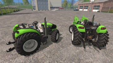 Farming Simulator 15 - Deutz Fahr Pack