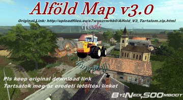 Farming Simulator 17 - Alföld Map v3.0
