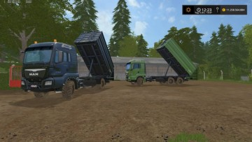 Farming Simulator 17 - FLIEGL TRANSPORTPACK V1.0.5.0