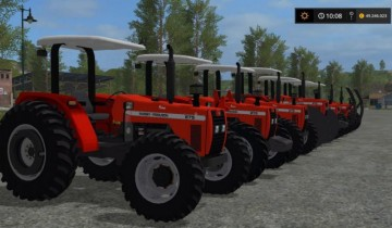 Farming Simulator 17 - MASSEY FERGUSON 275 ADVANCED