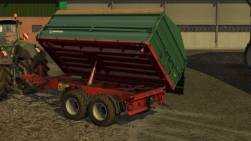 Farming Simulator 17 - FBM-TEAM FARMTECH TDK 1600 - DH V1.0