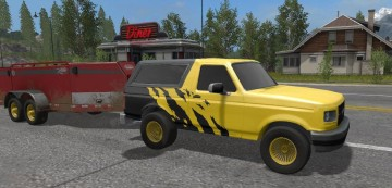 Farming Simulator 17 - FORD BRONCO 1979 V 1.3 MULTICOLOR