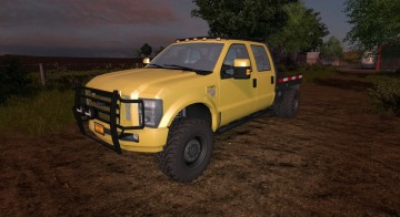 Farming Simulator 17 - FORD F350 DIESEL V 2.0
