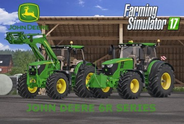 Farming Simulator 17 - JOHN DEERE 6R SERIES FULL PACK