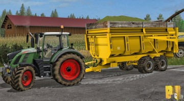 Farming Simulator 17 - MAITRE TRAILER PACK V1.1