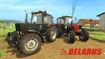 Farming Simulator 17 - MTZ 82.1 BELARUS RED NEW