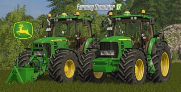 Farming Simulator 17 - JOHN DEERE 7430/7530 V4.0 FULL PACK