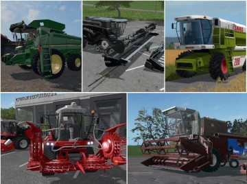 Farming Simulator 17 - BIG PACK COMBINES V1.0