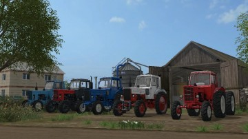 Farming Simulator 17 - MTZ 82/80 BEARFARM V2.0
