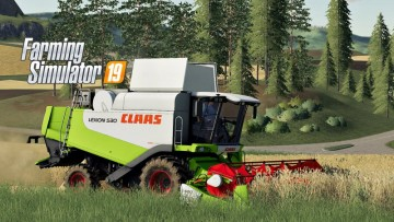 Farming Simulator 19 - Claas Lexion 530