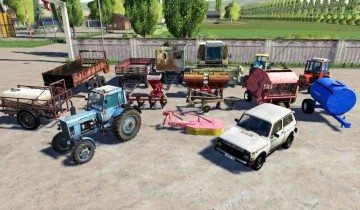 Farming Simulator 19 - Starpack for a novice farmer v1