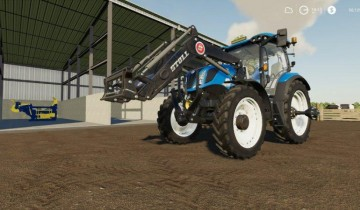 Farming Simulator 19 - NEW HOLLAND T6 AMERICAN