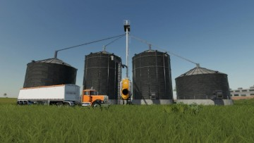 Farming Simulator 19 - Large grain silo with dryer