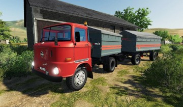 Farming Simulator 19 - IFA W50 Grain Construction V1