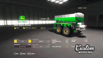Farming Simulator 19 - New Leader NL345 / John Deere DN345