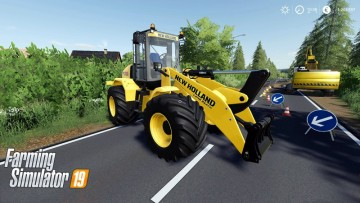 Farming Simulator 19 - New Holland W170C v1.2
