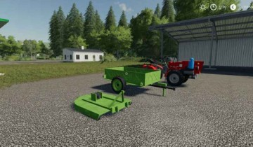 Farming Simulator 19 - Agrostroj TZ-4K-14 & Mower and Trailer v 1