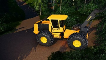 Farming Simulator 19 - Tigercat C640E Swing Boom