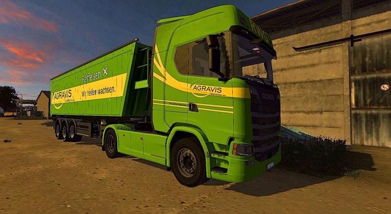 Scania S V2 Farming Simulator 17 M 243 D